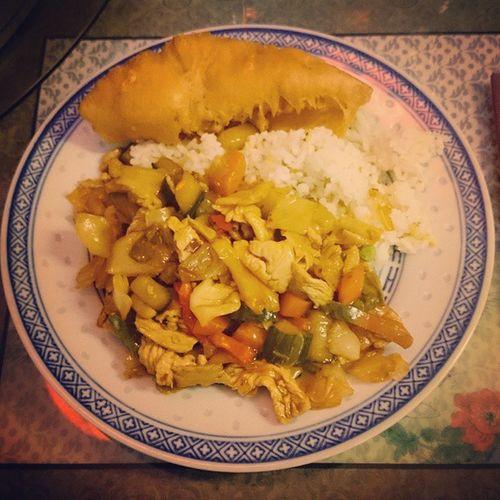 Ruoka Nälkä Riisi Kana kiinalainenravintola kiinalainenruoka food rice chicken chineserestaurant chinesefood Varkaus Suomi Finland sonyxperiaz2