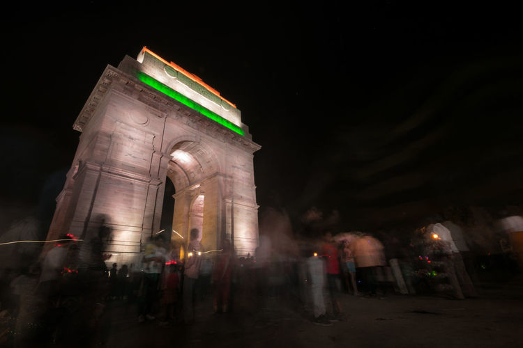 INCREDIBLE INDIA #indiagate #Indianpeoples #newdelhi #peoplesaround #togetherness #sideview #indianphotohrapher EyeEm Selects Politics And Government City Illuminated Cityscape History Arts Culture And Entertainment Riot Architecture Sky First Eyeem Photo