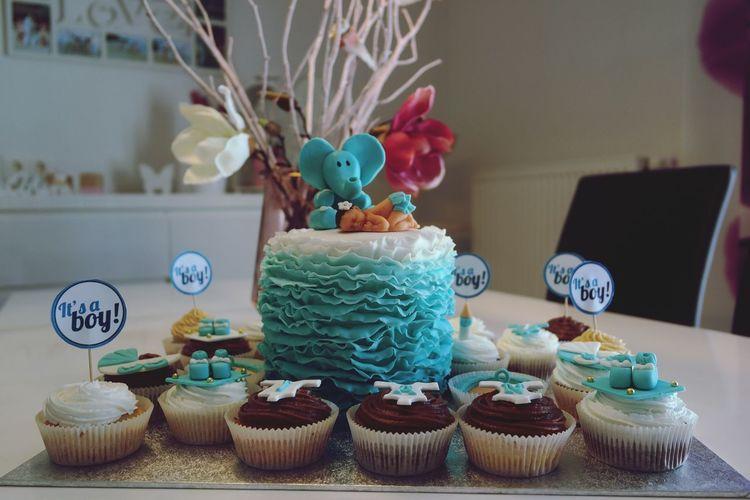 Babyparty Baby Cake Cupcakes Sweet Love Tortenpost First Eyeem Photo