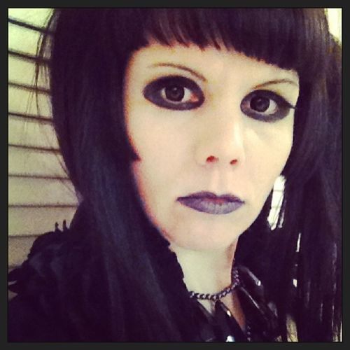Goth Gothic Frontwoman Singer  vocalist gothiclolita selfie spooky