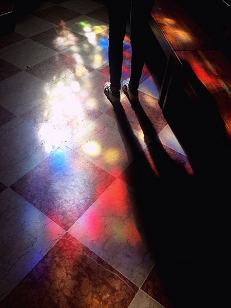 St Peter's Trento Church Vetrate Colored Glass Images Colored Lights Legs Light And Shadow Lights Shear Filtred Window Light Adidas Superstar Weekend Activities Sunlight Interior Views