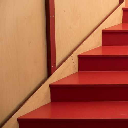 Abstract stairs Abstract Photography Abstract Architecture Built Structure Close-up Day Indoors  Minimal No People Red Staircase Steps Steps And Staircases Modern Workplace Culture