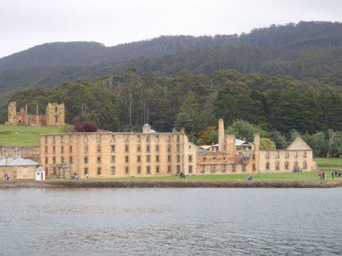 Tasmania Water Coastline Port Arthur Ruins Prison
