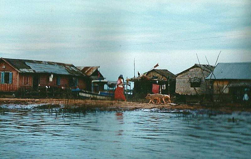 RePicture Travel River Nature The Human Condition Village Life On The River Cambodia