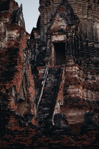 Ancient Ancient Civilization Architecture Belief Brick Building Building Exterior Built Structure Deterioration History Low Angle View No People Old Old Ruin Outdoors Place Of Worship Religion Ruined Spirituality The Past Tourism Travel Travel Destinations
