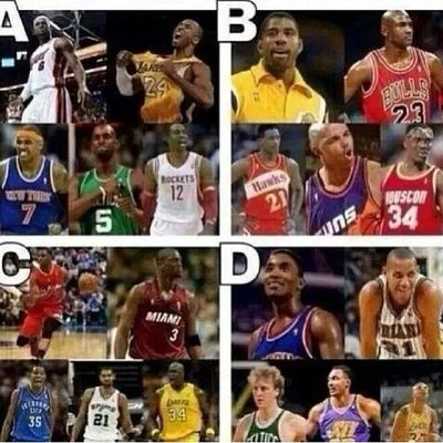 Who you picking? My Money on A NBA Hoopin Baller basketball greatest kobe lebron dwight melo kg celtics heat heatnation miami champions comment who you got and why