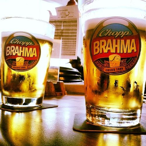 Chopp co dad! Chopp Brahma Sunday Pai