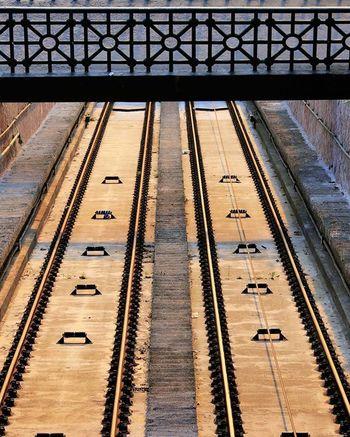 Rails Photorednails Morningtime Budapest Budavarisiklo Inthesunshine Lines MyArt Instagood Instaphotos Instaoftheday