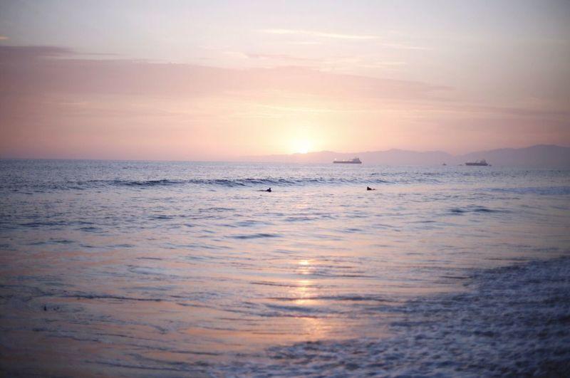 Sea Water Sky Scenics - Nature Beauty In Nature Sunset Tranquility Nature Reflection Beach Idyllic Non-urban Scene Horizon Cloud - Sky Land Dusk Outdoors Tranquil Scene Horizon Over Water No People