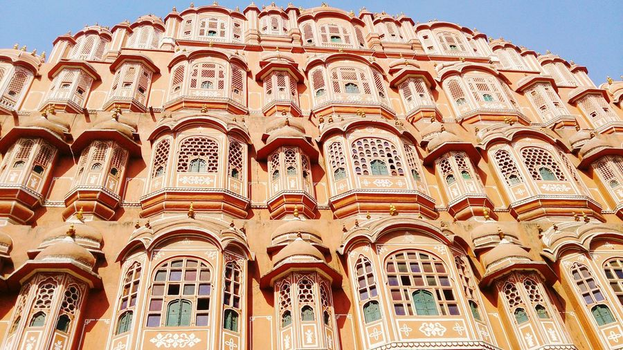 Marvelous Architecture of Jaipur wind Palace First Eyeem Photo The OO Mission