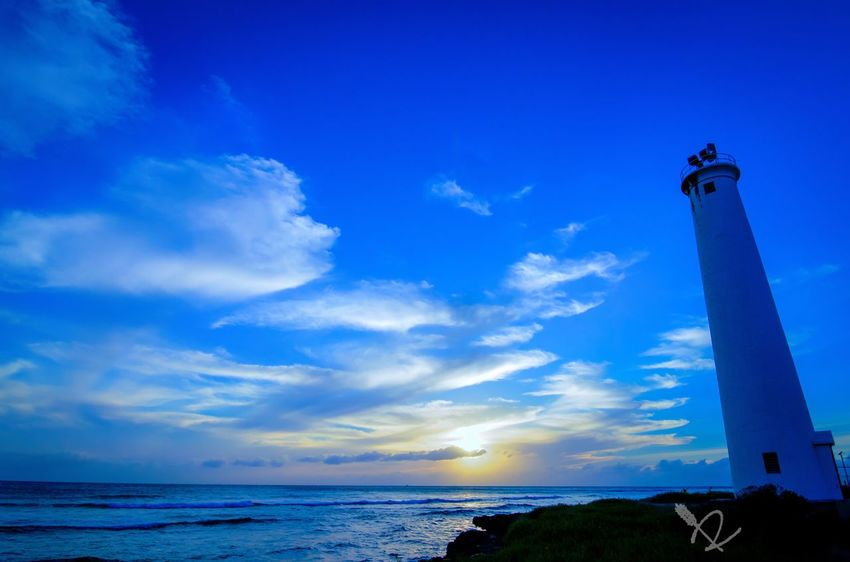 The Lighthouse in Barbers Point on Oahu Hawaii in Colors Hello World Taking Photos EyeEm Best Edits Eye4photography  EyeEm Best Shots EyeEm Best Shots - Sunsets + Sunrise
