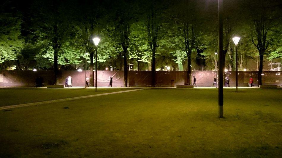 People Walking  Night Vision