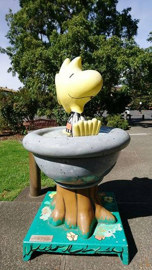 Paint The Town Yellow Woodstock Charlie Brown Charlie Birdy Santa Rosa CA