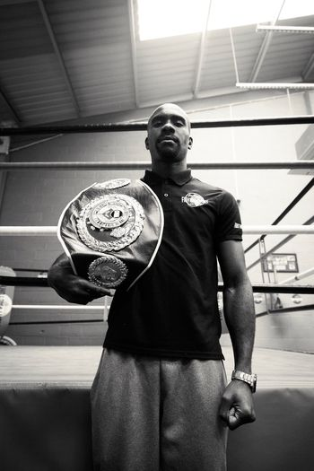 Stephen European Welterweight Champion #ring #boxing #Belt #champion #boxer One Person Real People Indoors  Men Standing AWARD Young Adult Sport Sportsman One Man Only EyeEmNewHere