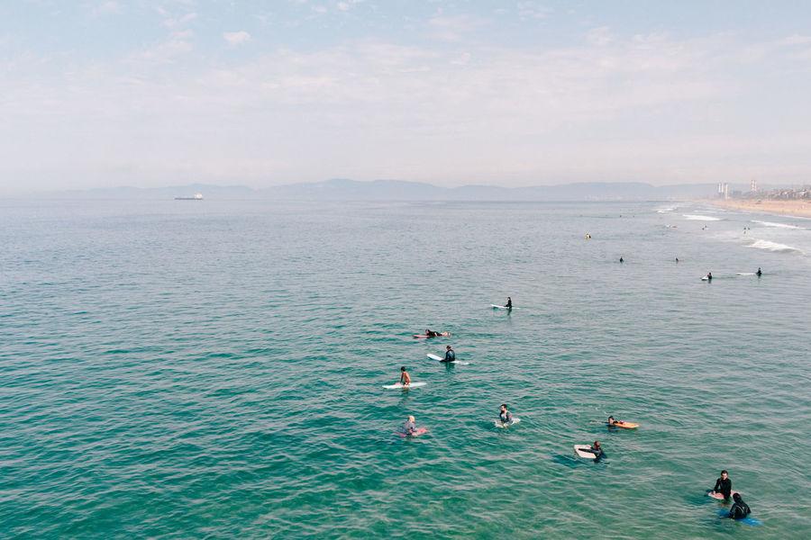 Beach Sea Ocean Surfing Surfer Surf California Summer