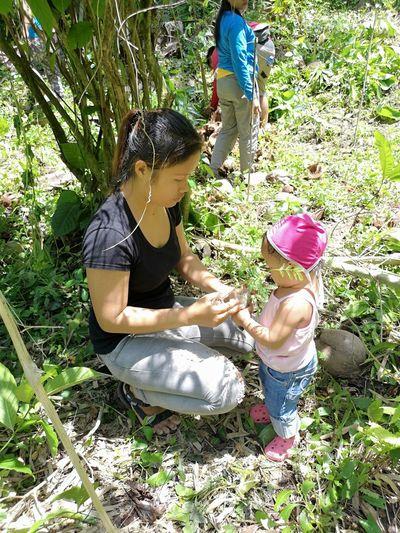 Inspire. Participate. Share Motherteachingherchildtolovenatureandplanttrees SaveMotherEarth PlantTrees