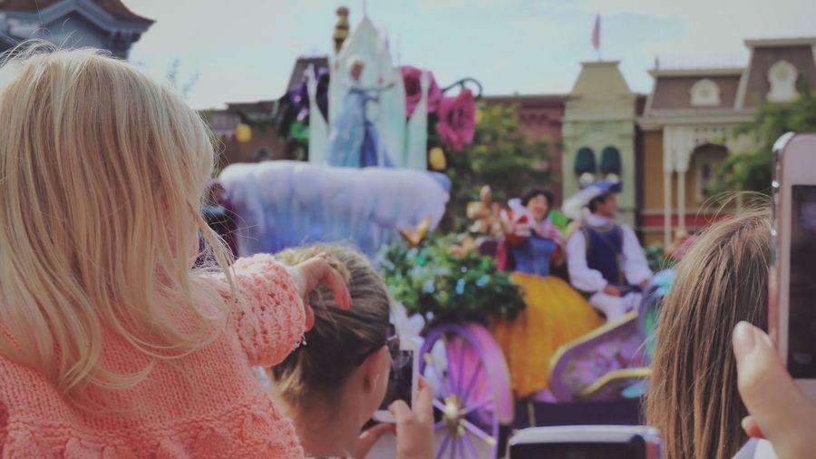 Photo I took last Summer Disneyland Hello World Traveling Holiday Children Disney
