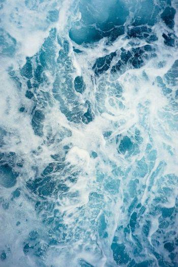 Full frame shot of water in sea