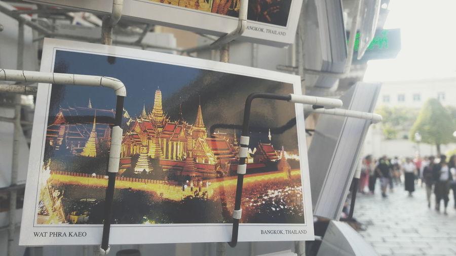 Temple Postcode Postcards Wat Prakeaw Bangkok Retail  First Eyeem Photo