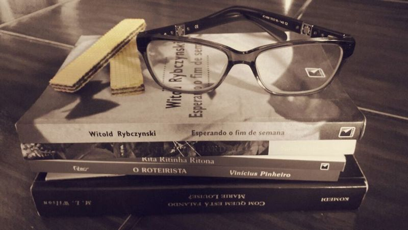 Culture Hobby Day No People Glasses👌 Books ♥ Waffer