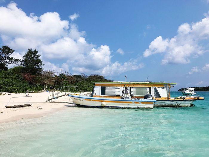 Kabira Bay Crystal Clear Ocean Sea Glassboat Ishigaki Island OKINAWA, JAPAN Travel Photography