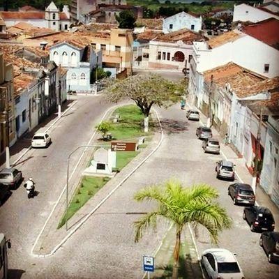 É assim a vista na torre da igreja Nossa Senhora do Rosário dos Pretos. Turismo Cultura Lazer Historia Conhecimento Vemconhecer Diferente Apaixonante Penedo Maiorcentrohistoricodealagoas