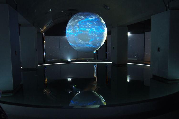 Blue Earth Hydropolis Illuminated