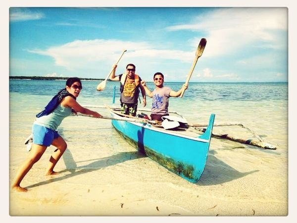 Because we want to experience the total island life!!! rRowtheeffinboat  BantayanIsland  Cebu