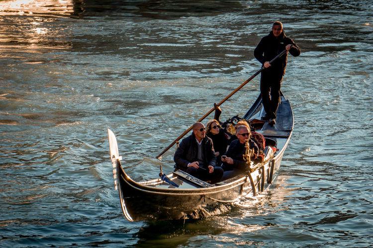 Gondola boat in