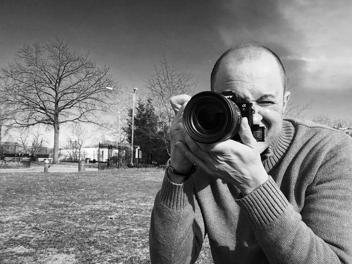Selfie Selfportrait Sony A7 Inwood Park