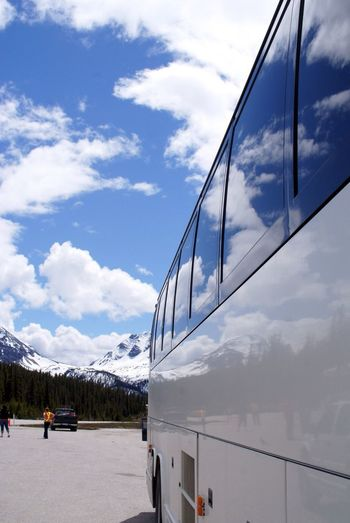 Traveling Reflection Rocky Mountains Canada