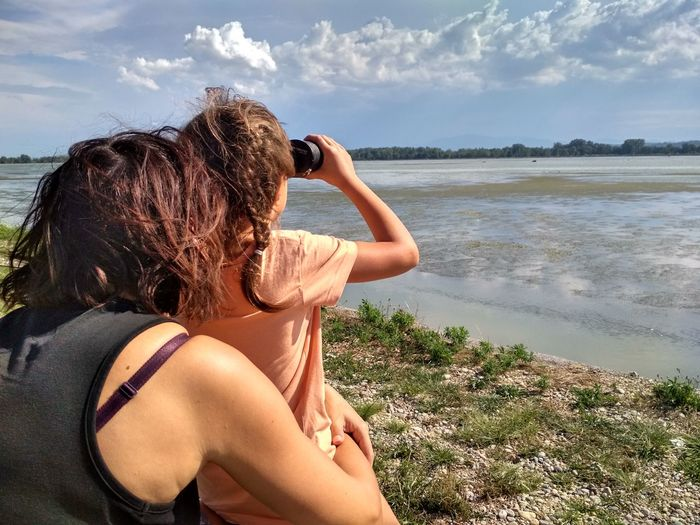 EyeEm Selects Lake Mother Daughter  Outdoor Nature Slovenia