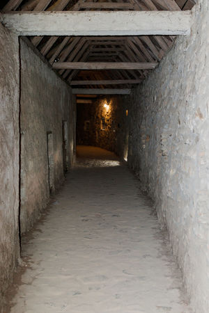 Passage under the roof, between the protective walls in the Fortified Church Prejmer in Prejmer city in Romania Ancient Architecture Castle Church Fortified Church Prejmer Gothic Romania Roof Transylvania Travel Wall Building Culture Europe Famous Place Fortified Wall Heritage History Landmark Medieval Old Passage Passages Religion Tourism