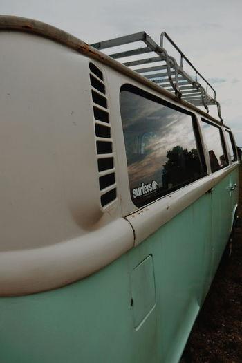 surfers van Van Vans Surfer Volkswagen Volkswagenbus Bus Surferslife Reflection