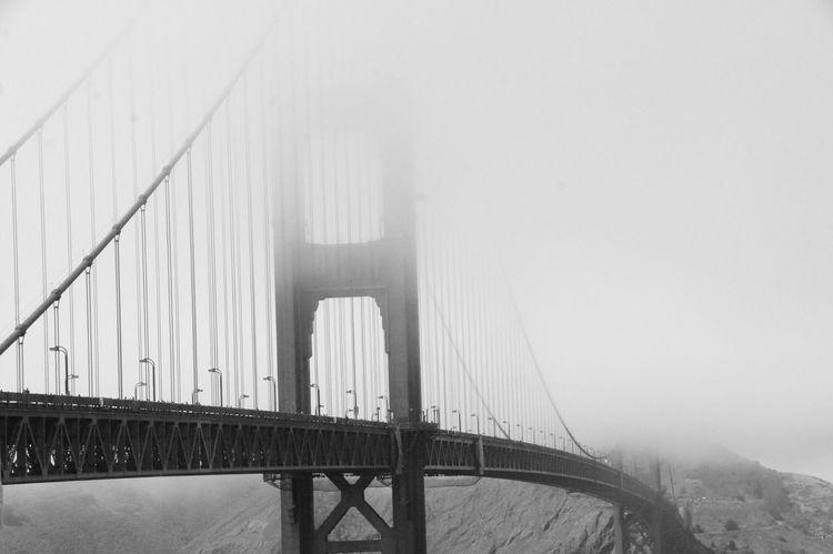 Golden Gate Bridge Sanfrancisco Golden Gate Bridge Bw California Cali