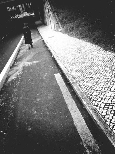 Gone Walk Away Paths Conscience Streetphotography_bw