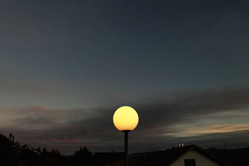Sky Cloud - Sky Sunset Nature Silhouette Outdoors First Eyeem Photo