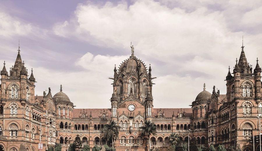 Urban 4 Filter Mumbai India EyeEm Best Shots Architecture Gothic Railway