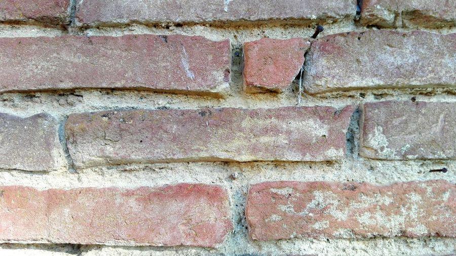 Muro  Wall Mattoni Cemento Concrete Red Rosso Mattone Textured  Tuscany Colors San Galgano