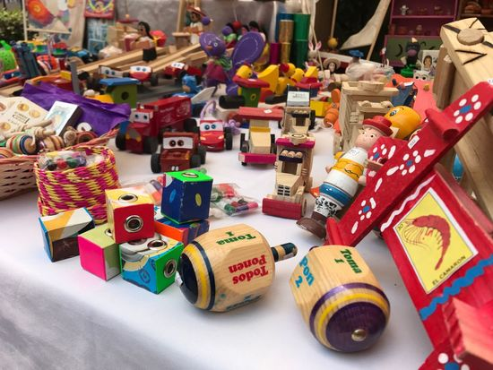 Juguetes de madera Toy Multi Colored mexicantoys woodtoys