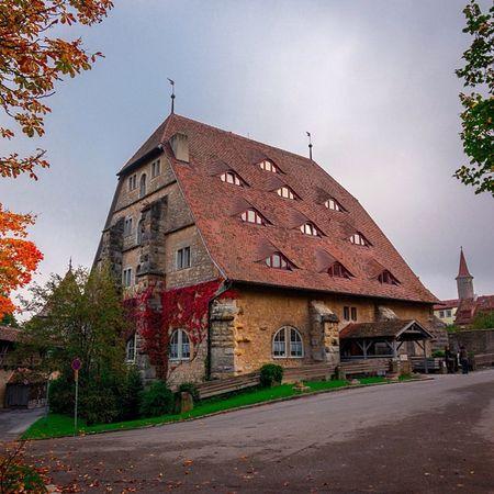 Глазастый Mytravel Mytrip Germany House eyes light architecture autumn