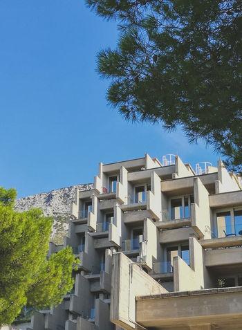 Brela  Architecture Croatia HuaweiP9