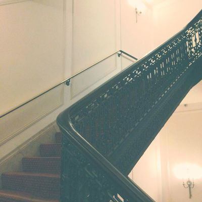 Stairwell Look Up Hipstamatic Purehipstamatic