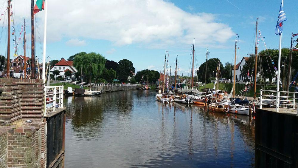 Carolinensiel Siel Ships Habour North Germany