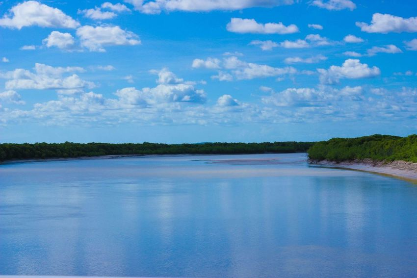 Allblue River Roadtrip Traveling Hello World Australia