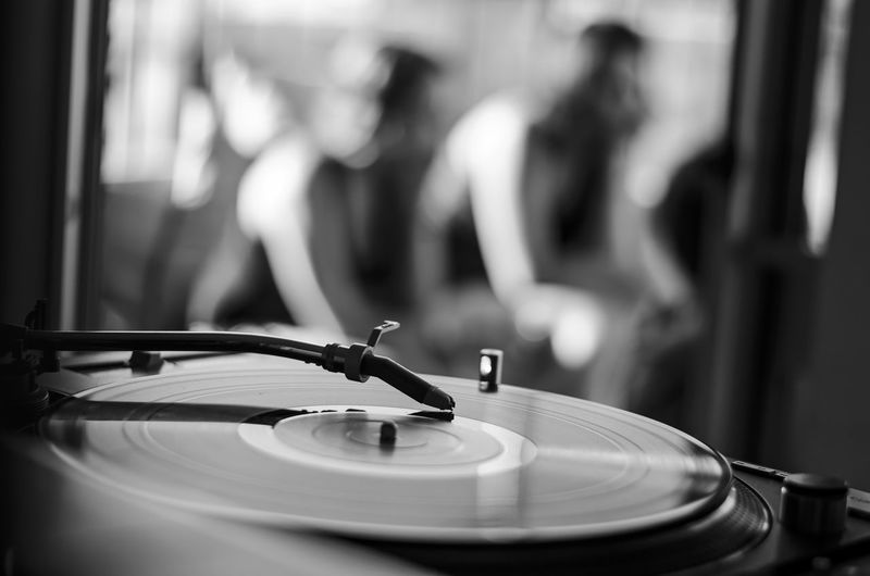 Listening to some good music records with friends on a Sunday afternoon. Arts Culture And Entertainment Black And White Black And White Photography Blackandwhite Day Focus On Foreground Indoors  Lifestyle Lifestyles Listening To Music Music Musical Equipment Old School People Playing Real People Record Record Player Needle Technology Turntable Vinyl The Week On EyeEm Black And White Friday