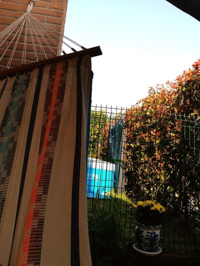 Relax in amaca Architecture No People Relax Day Domenicamattina Giornodisole Piscinatime Home Sweet Home