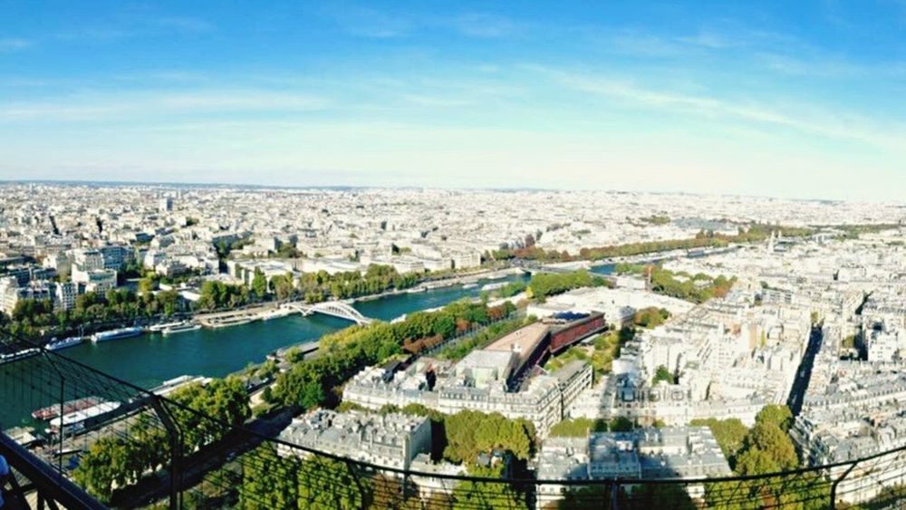 Paris Paris, France  City Beautiful Cities View From Eiffel Tower My favourite city ❤ Feel The Journey