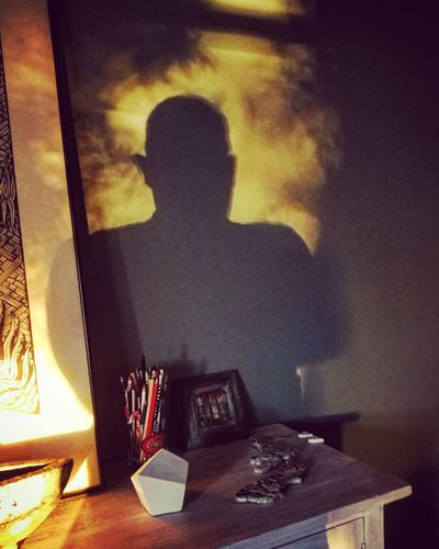 Christmas shadow figure Self Portrait EyeEmNewHere Shadow Figure Vibrant Back Lit Indoors  One Person Adults Only Window Adult Day The Still Life Photographer - 2018 EyeEm Awards