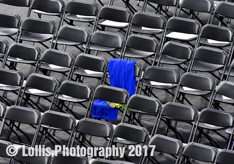 Wren High School graduation May 26, 2017 in honor of a lost classmate. ClassOf2017 Class Of 2017 Wren High School Wren Hurricanes Lollis Photography Memorial